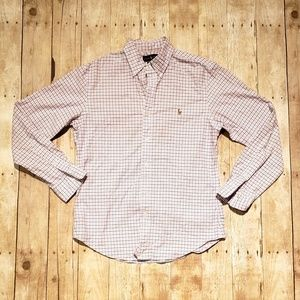 Ralph Lauren Slim Fit Stretch Oxford Shirt Size M